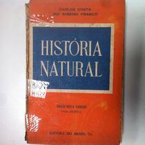 Livro História Natural Segunda Série Carlos Costa