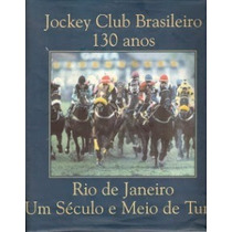 Jockey Clube Brasileiro 130 Anos - Frete Grátis