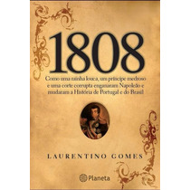Livro - 1808 Por Laurentino Gomes - Novo - Lacrado