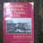 Livro Antecedentes Históricos Do Abc Paulista 1150-1892