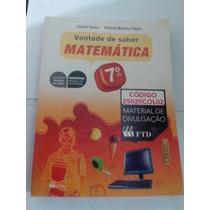 Vontade De Saber Matemática 7ºano Livro Professor Ref. 1266