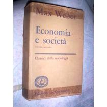 Economia E Sociedade Max Weber 1974