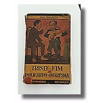 Livro Antigo 3ª Edição Rara De Lima Barreto