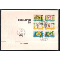 Brasil - Capa Oficial Lubrapex 1978 Em Porto Alegre!!!