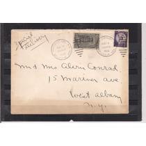 Estados Unidos - Envelope Circulado Porte Selo Expresso 1955