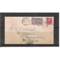 Estados Unidos - Envelope Circulado Porte Selo Expresso 1932