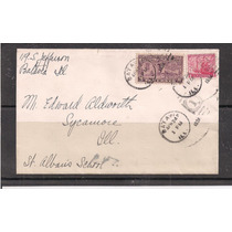 Estados Unidos - Envelope Circulado Porte Selo Expresso 1934