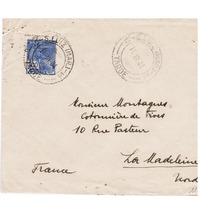 Carta De São Luiz-ma P/ Madeleine-frança 1931-env047