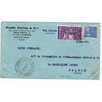 Carta São Luiz - Ma P/ França - 1932 - Env 087