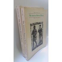 2 Livros The American Historical Review Volume 87 Núm 3 E 5