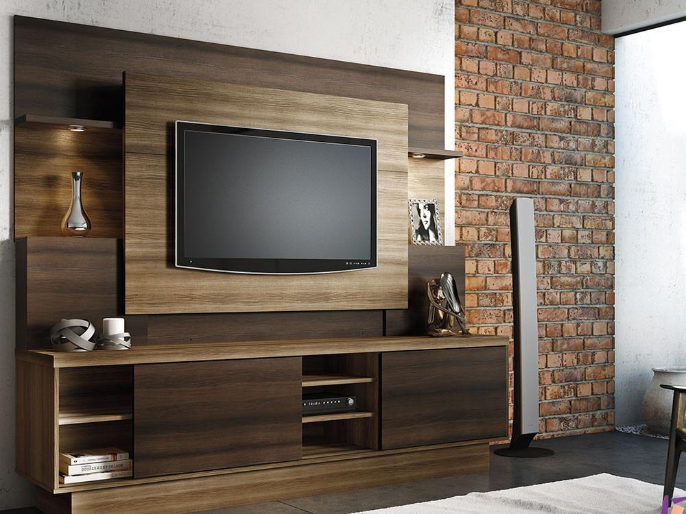Home De Sala De Tv ~ Home Para Sala De Tv Modelo Aron  R$ 780,00 no MercadoLivre