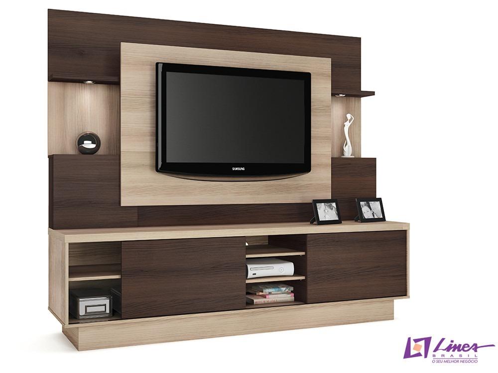 Home Para Sala De Tv ~ Home Para Sala De Tv Modelo Aron  R$ 780,00 no MercadoLivre