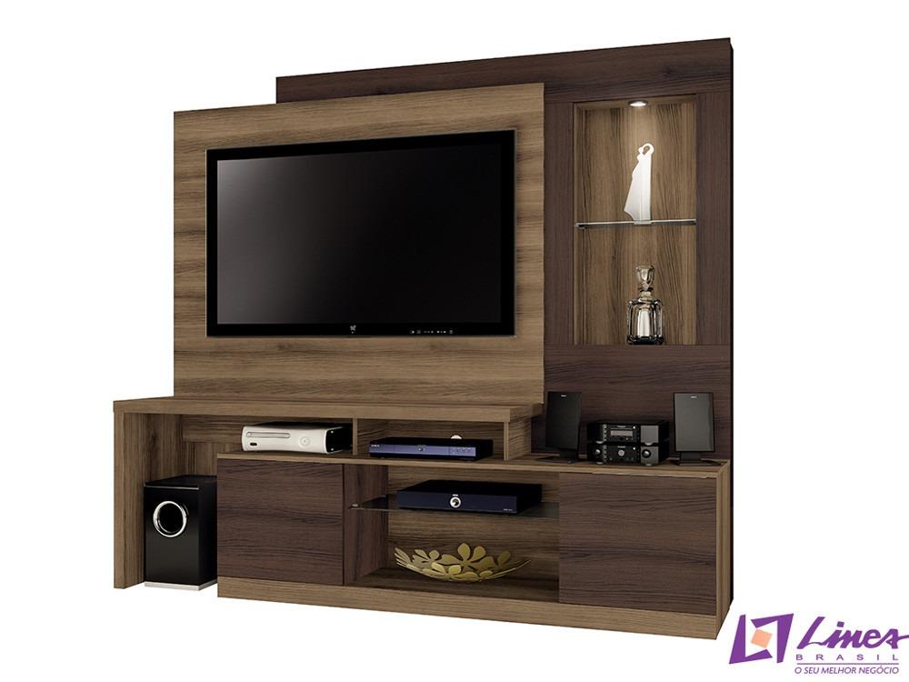 Sala De Tv Tipo Home ~ Home Para Sala De Tv Modelo Zeus  R$ 690,00 no MercadoLivre