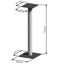Pedestal Para Home Theater Par Preto S5m 650 Elg