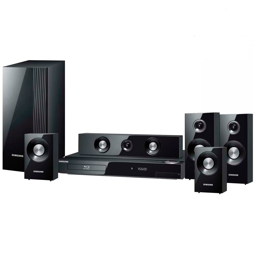 samsung htc330 5 1 ch dvd home theatre system 330w satellite speakers ebay. Black Bedroom Furniture Sets. Home Design Ideas