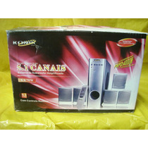 Home Theater Konic Kk70w -4.000 Watts Pmpo - 5.1 - Novo -