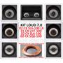Kit Cx Loud 7.0 Lht100 + Sl6-lx + Sl6-100 + Sq6-100 + Fio
