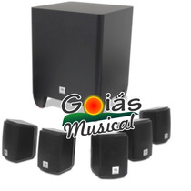 Home Theater 5.1 Jbl Cinema 510 Kit + Nota Fiscal Garantia