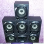 Kit 5 Caixas Acusticas Home Theater Sony 140w Rms Cada