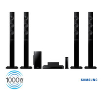 Home Theater Samsung 5.1 Tallboy 1.000w Rms Hdmi Ht-f5555wk