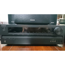 Home Theater Onkyo Ht-s3400 5.1 3d 660w Receiver + Caixas