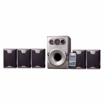 Home Theater 5.1 House 80w Rms Usb/sd/mmc/fm Leadership