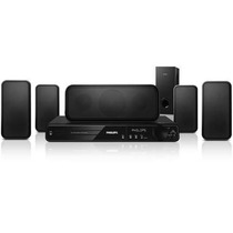 Home Theater 5.1 Dvd Karaoke 1000w Hdmi Philips Hts3375x/78
