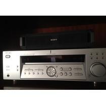 Home Theater - Sony Str-de475 (receiver, Caixas E Pedestais)