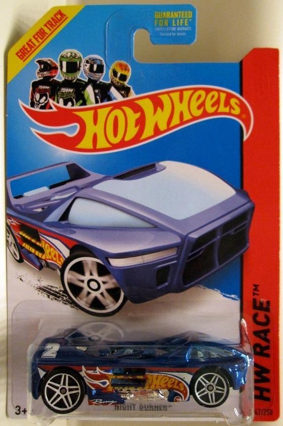 hot wheels 2014, race, night burner t-hunt (treasure hunt)