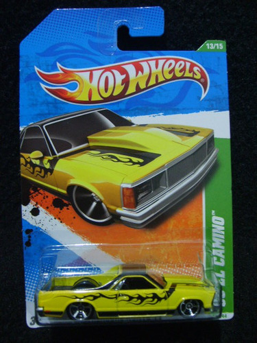 Hot Wheels - 80 El Camino (t-hunt)