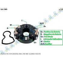 Placa Retificadora 80a Scania Caminhao Dsc 14.57 - Gauss