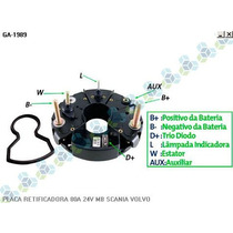Placa Retificadora 80a Scania Caminhao Dsc 11.57 - Gauss