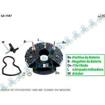 Placa Retificadora 140a Scania Chassi K113cl - Gauss