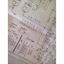 Esquema Eletrico Greynolds Lr-4000 Incl.o Digital Frete Free