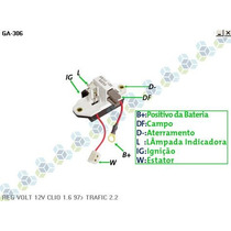 Regulador Voltagem Renault R19 - Gauss
