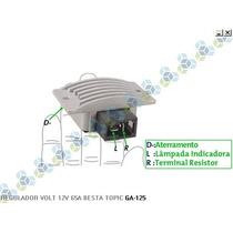 Regulador De Voltagem Kia Besta Topic 14v 65a