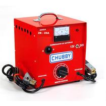 Carregador Bateria 12v E 24v 20ah C/amperimetro. 110v/220v.