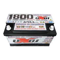Bateria De Som Oxhi Bass 120ah/hora 1800\pico Som. + Brinde
