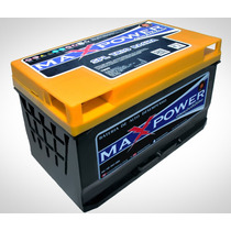 Bateria Max Power 80ah Para Som Automotivo Maxpower