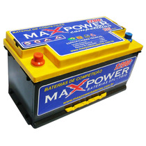 Bateria Para Som Automotivo Mp-1200 135ah Maxpower