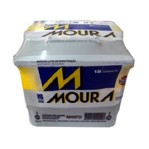 Bateria Moura 40 Amperes Ford Ka, Fiesta, Courrier, Celta