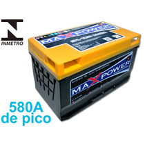 Bateria Para Som Automotivo Mp-800, 80ah Maxpower