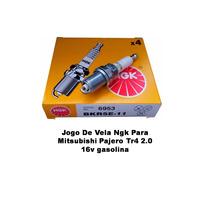 Jogo De Vela Ngk Para Mitsubishi Pajero Tr4 2.0 16v Gasolina