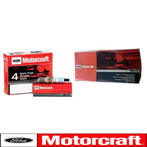 Kit Cabos + 4 Velas Originais Ford Escort 1.8 97/02 Zetec