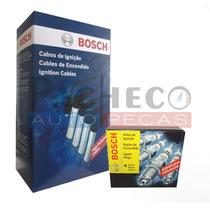 Kit Cabo E Vela Bosch Fox Gol G4 G5 Voyage 1.0 1.6 8v Flex