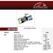 Motor De Partida Gm Chevrolet Blazer, S10 2.2, 2.4 Flexpower