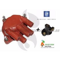 Kit Tampa Distribuidor + Rotor Gm Omega 4cc/ Vectra / Astra