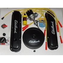 Kit Tampas Filtro Edelbrock Distribuidor 318v8 Dodge