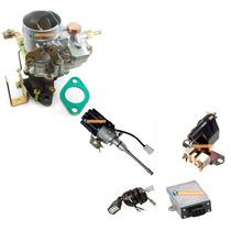 Kit Ignição E Carburador Ford Jeep Willys Rural F75 6cc 6 Cc