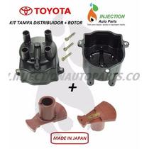 Kit Tampa + Rotor Distribuidor Toyota Camry 4cc Motor 2.2